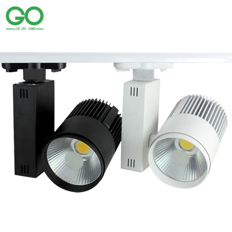 Led Track Lighting : LED-Track-Light-20W-COB-Rail-Light-Spotlight-strip-Equal-to-200w ...
