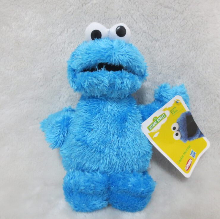 Cookie Monster Stuffed Toy - Sesame Street Cookie Monster Plush Doll 25cm Plush Toys(China (Mainland))