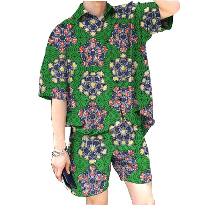 font b Men s b font fashion african printed font b shirts b font and