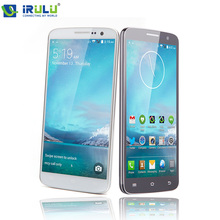 "Irulu 5.0 ""u2 3g smart mobile phone quad core 8 gb dual sim qhd lcd 13mp dual cam frequenza cardiaca sensore di luce mtk6582 android 4.4(China (Mainland))"