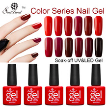 Buy Saviland 1pcs Nail Gel Polish Long-Lasting Top Base Coat Soak-off UV Gel Varnish LED Color Series Nail Lacquer Glue for $1.38 in AliExpress store