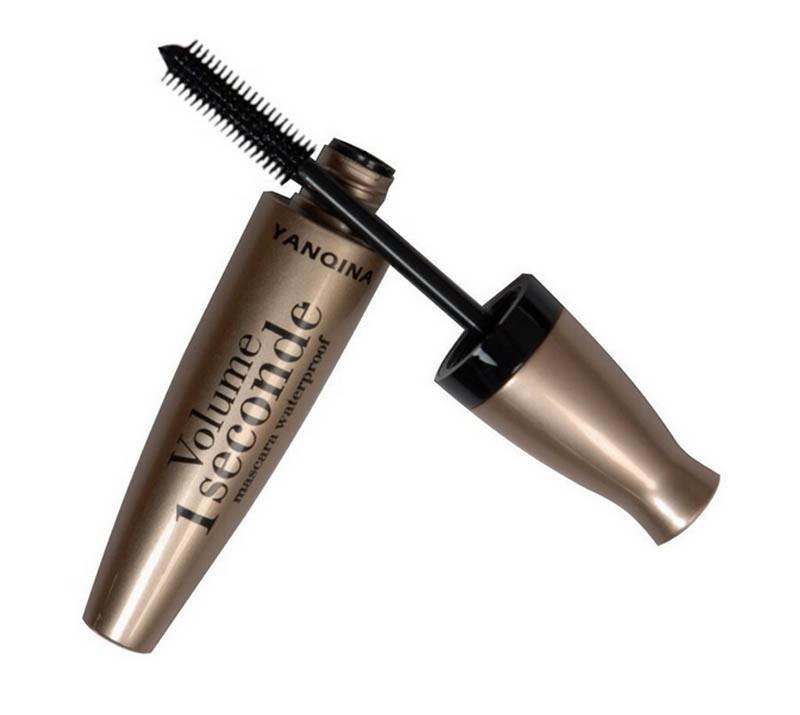 1 Pcs Brand New Waterproof Mascara Lot FIBER eyelashes colossal mascara volume express makeup For Eyes Beauty Make up Brushes(China (Mainland))