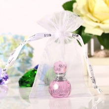 2ML Unique Mini Pink Crystal Glass Empty Woman Perfume Bottle 2inch Art Travel Bottle Refillable Container Wedding Lady Gift(China (Mainland))