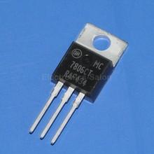 ( 5 шт./лот ) на полу 7806 ic, Положительный 6 В регулятор напряжения, Mc7806ct(China (Mainland))