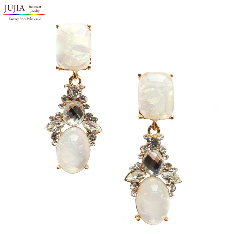 2017 Trend fashion crysta vintage design party girl statement Earrings women jewelry Factory Price - JUJIA Official Store store