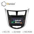 Ownice C500 4 Core Android 6 0 2 din CAR DVD player for Hyundai Solaris accent