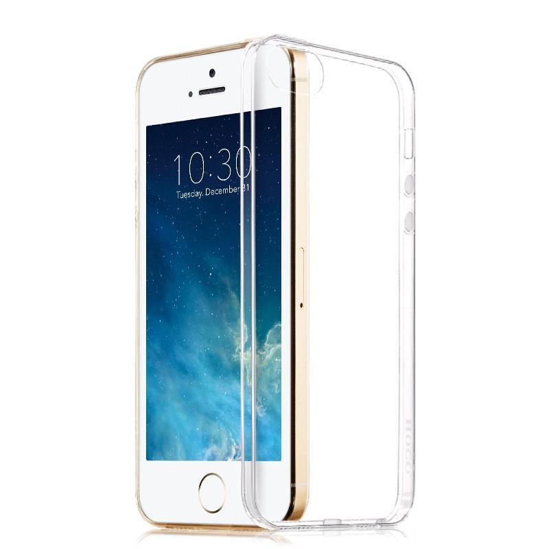 Tower Luxury Ultra Thin Transparent Tpu Soft Silicon Capa Case For Apple Iphone 5 5s Phone