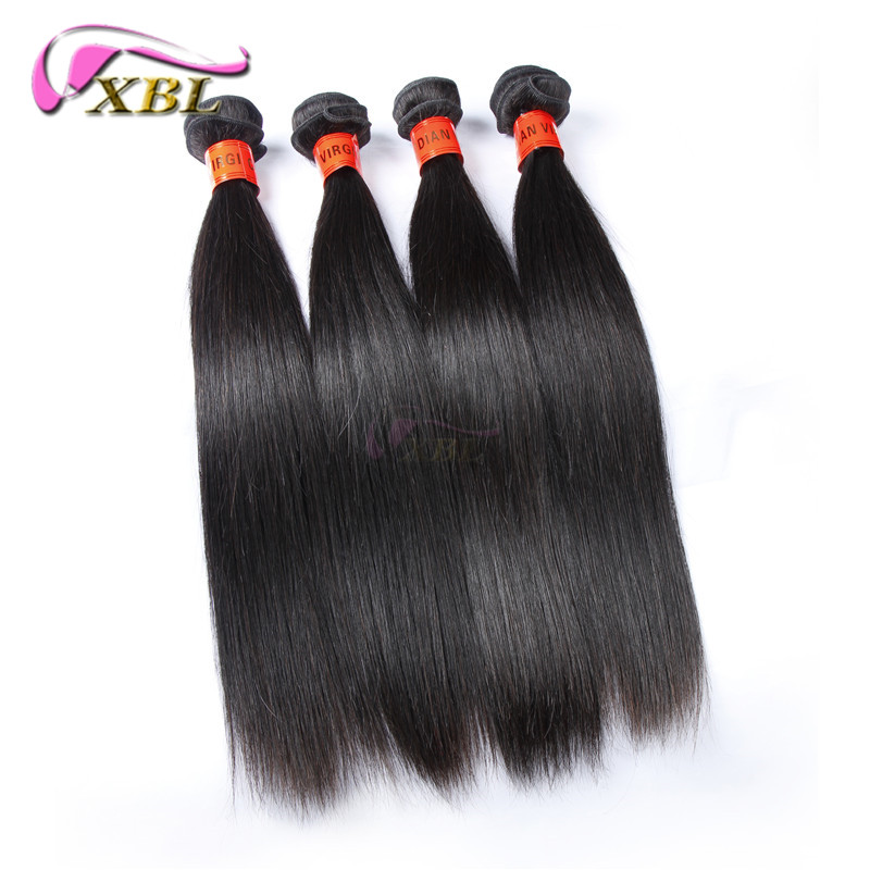 Cambodian human hair weave unprocessed Virgin Hair silk straight Cambodian Virgin hair 4 pcs/bundles lot queen hair products