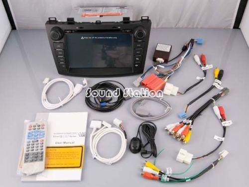 For Mazda 3 2010 2011 2012 2013 Car DVD GPS Navigation Media Center Stereo Audio Video Central Multimedia Multimidia HeadUnit(China (Mainland))