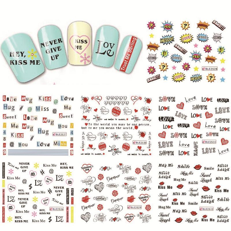 Наклейки и переводные картинки из Китая