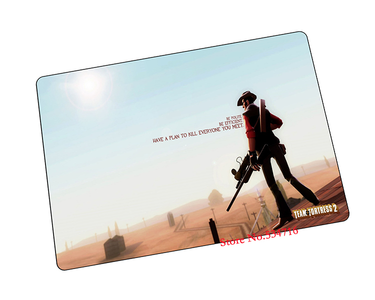 team fortress 2 mouse pad gear Popular game notebook computer mat brand gaming mousepad gamer laptop jogos - Aries's free space store