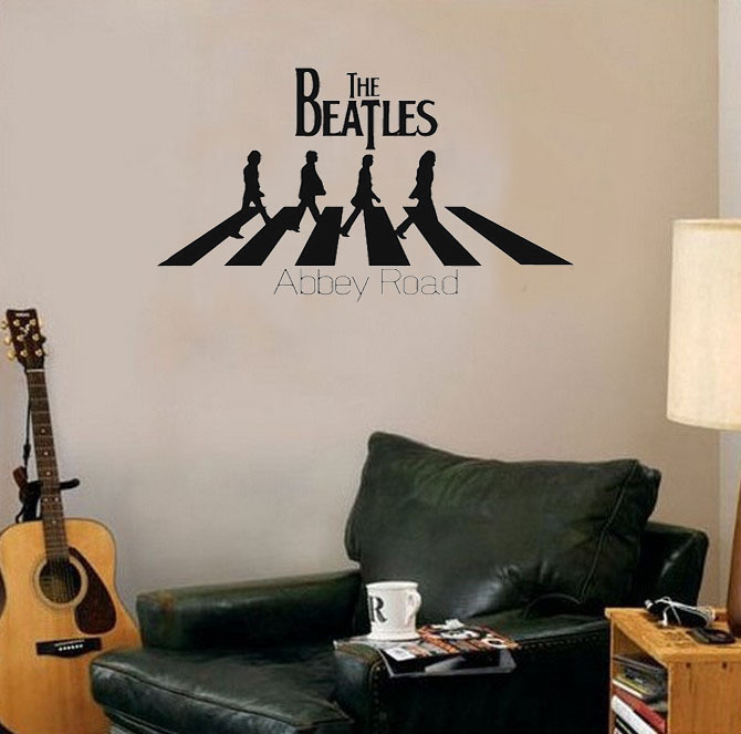 Compare prices on abbey road wall online shopping buy low for Beatles abbey road wall mural