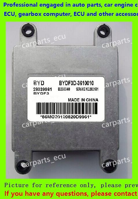 For BYD China Chun Jie car engine computer board/ECU/ Electronic Control Unit/Car PC/ 28039961 EBYDF3D-3610010(China (Mainland))