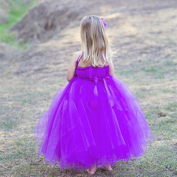 Скидки на 2 Т-10 Т дети платья для девочек Твердые Семья установлены Пачка платье Принцессы/Малыша девушка одежды Свадьбы платья Фотографии реквизит