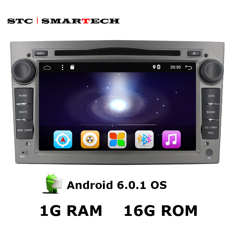 SMARTECH 2 Din 7 inch Car PC Tablet Multimedia Player 1024*600 Resolution for Opel Series support OBD GPS Navigation Bluetooth(China (Mainland))