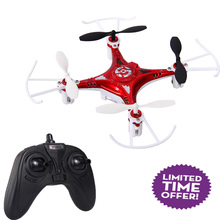 X7 2.4GHz 4CH 6-Axis Gyro 3D RC Mini Quadcopter Drone UFO RTF Helicopter Red  Remote Control Toy Plane Toys high quality