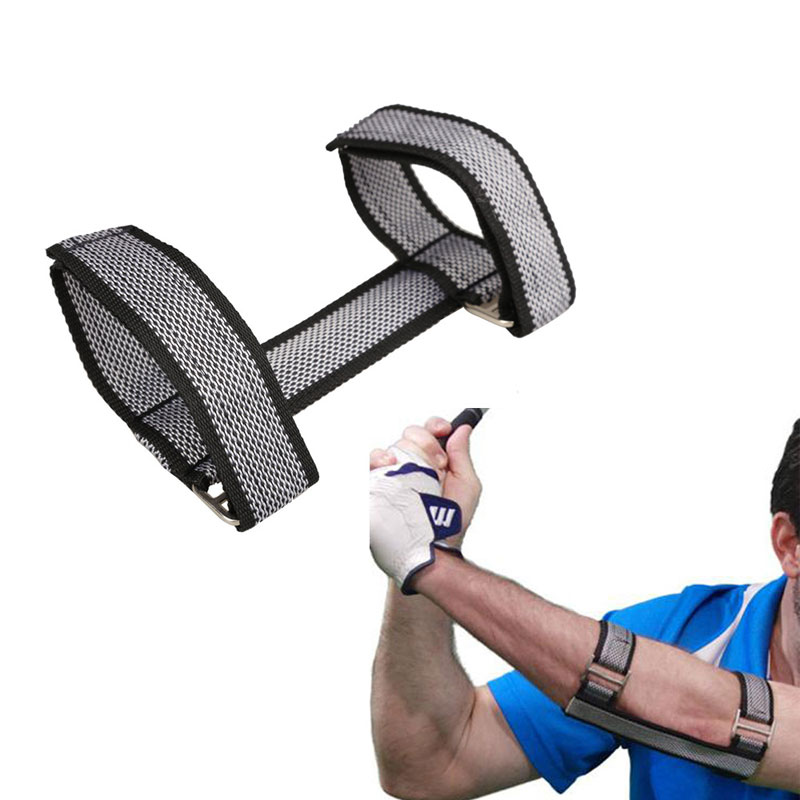 Bielas Golf Elbow Arc Posture Corrector Crank Arm Trainer Golf Practice for Beginners Golf Arm Posture Corrector(China (Mainland))