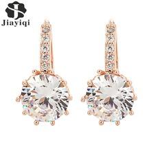 Buy 2017 New Vintage Earrings Rose Gold Crystal CZ Bling Drop Earrings Women Girls Christmas Gfit Fashion Wedding Jewelry for $1.19 in AliExpress store