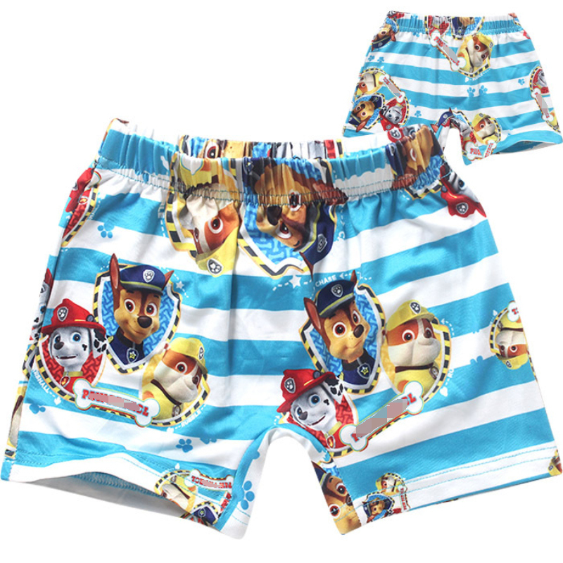 2016 fashion boy swimming trunks cartoon dog clothes baby boys shorts summer children chothes kid boys the beach swimming trunks(China (Mainland))