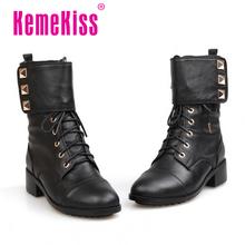 Media del tobillo envío gratis corto natrual reales cuero genuino botas planas mujeres nieve zapatos de la bota R3111 tamaño del EUR 34-39(China (Mainland))