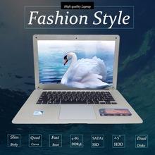 14inch Laptop Computer Notebook Windows 7/8 Qual Core In-tel celeron J1900 8G 500G HDD Wifi Webcam 1.99GHz PC Ultrabook USB3.0(China (Mainland))