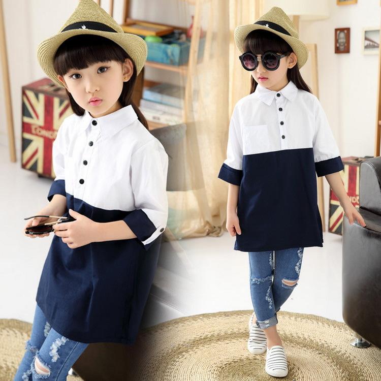 Блузка для девочек GETUBACK 2015 4/14t & & , HC427