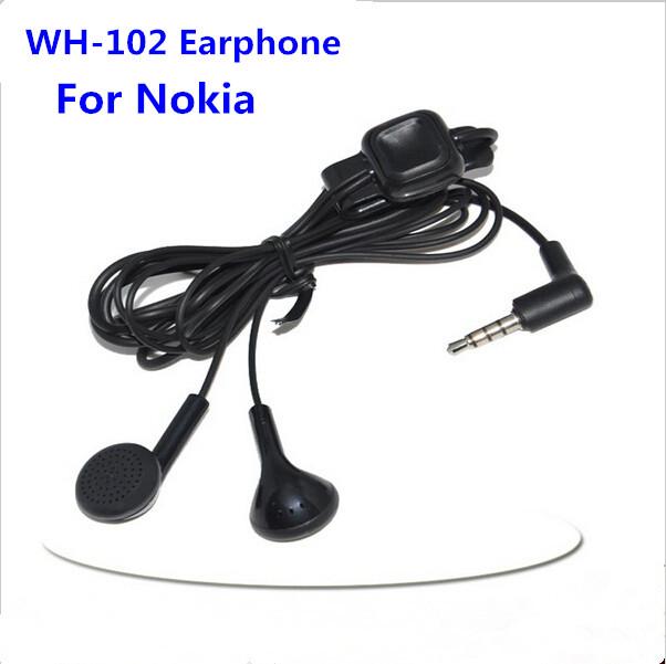 50pcs/lot High Quality WH-102 HS-125 Headset Earphone For Nokia 7230 5330 2690 2692 E72i 8208 100 1280 6788i 2730 5310(China (Mainland))