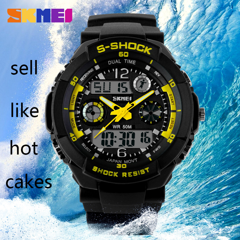SKMEI 0931 Digital Watches Sport Relogios Masculinos 2015 Reloj Hombre Deportivo Militar And Shock Water proof Digital Watches(China (Mainland))