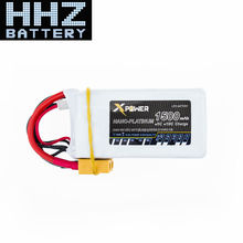Lipo 4S Battery 14.8V 1500mah 45C Max 60C XT60 Plug Xpower Li-polymer Batteries For RC Drone Quadcopter Truck Car Boat Parts