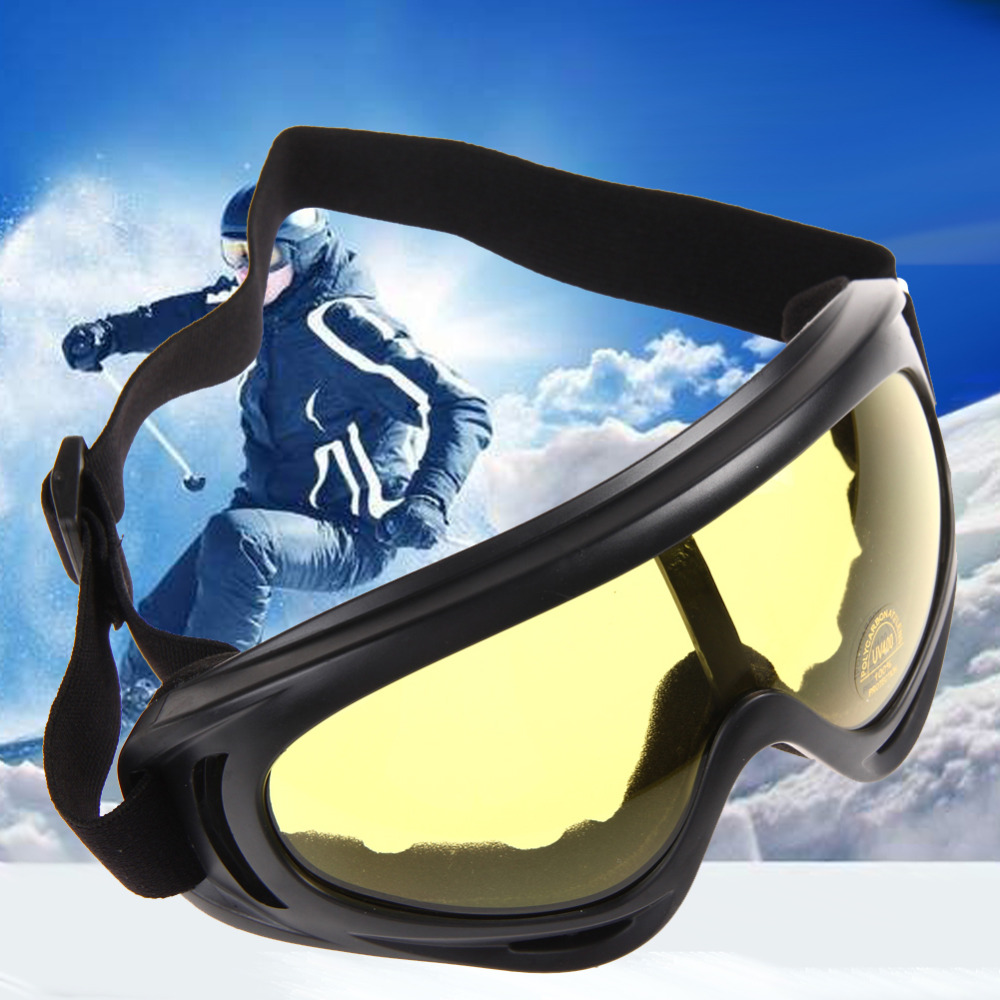 New Snowboard Dustproof Sunglasses Motorcycle Ski Goggles Lens Frame Glasses Paintball Outdoor Sports Windproof Eyewear Glasses(China (Mainland))