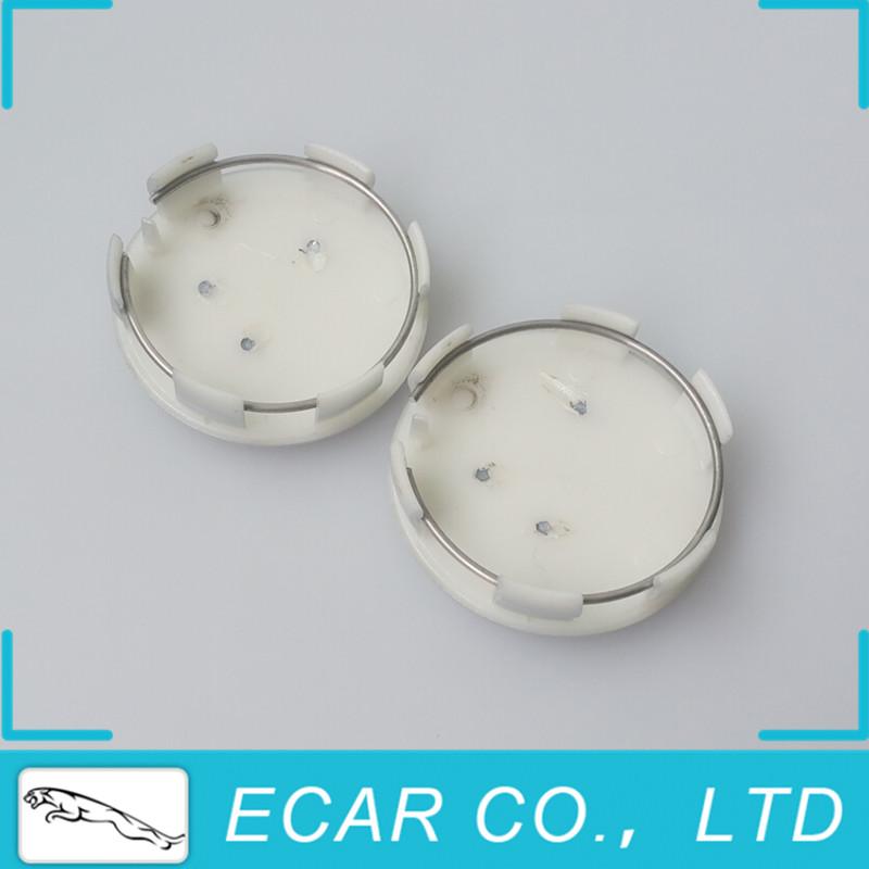 40Pcs/lot 60mm Silver Chrome Alloy Car Wheel Center Cap Hub Cap Covers fit Car Model 206 207 307 308 301 407 408 508(China (Mainland))