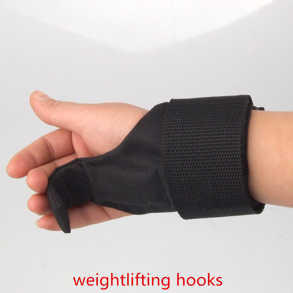 Women S Fitness Gloves With Wrist Support: High Quality 1 Pair Weightlifting Hooks Weight Lifting