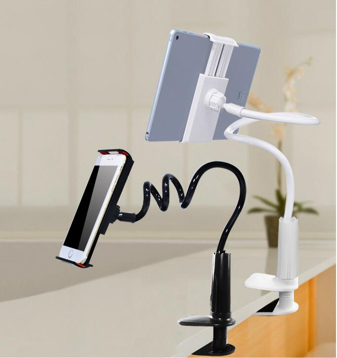 Universal 360 degree Flexible Arm Tablet PC holder stand Lazy People Bed Desktop tablet Bracket For iPad Samsung Dell Table PC(China (Mainland))