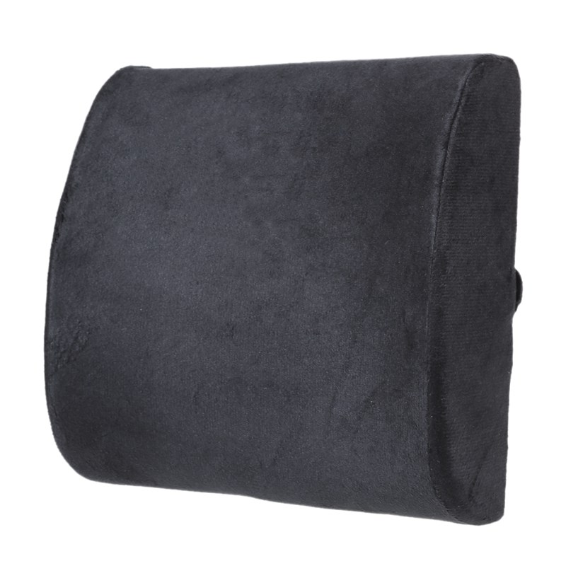 Memory Foam Lumbar Seat Cushion Back Support Travel Pillow Home Office Chair Decoration Cushion