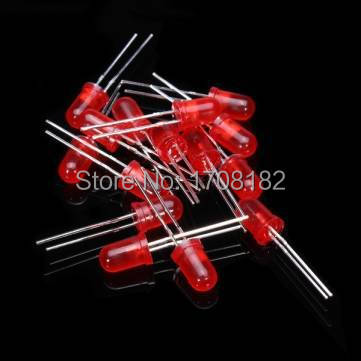 500Pcs lot 5MM LED Diode Kit Mixed Color Red Green Yellow Blue White