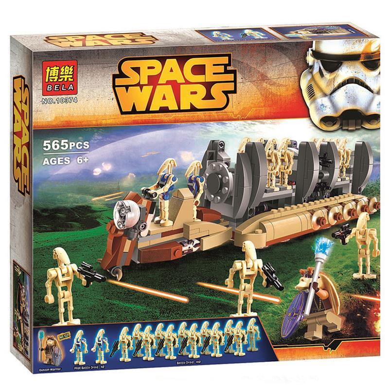 2016 New Star Wars Battle Droid Troop Carrier Minifigures Building Blocks Model Bricks Education Toy BL10374<br><br>Aliexpress