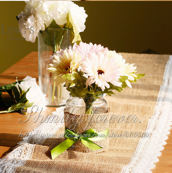 Buy free shipping 14 x108 vintage jute for Where can i buy wedding decorations
