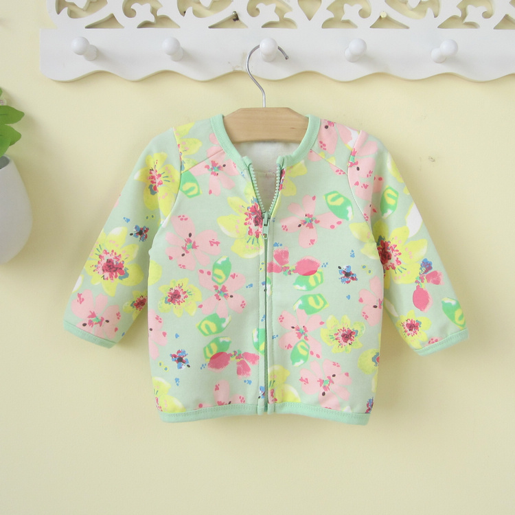 Freeshipping Runway 2015 Children's Clothing Female Child 0 -1 - 2 years Old Spring Infant Outerwear Baby Cardigan The Tribe of Guoguo store