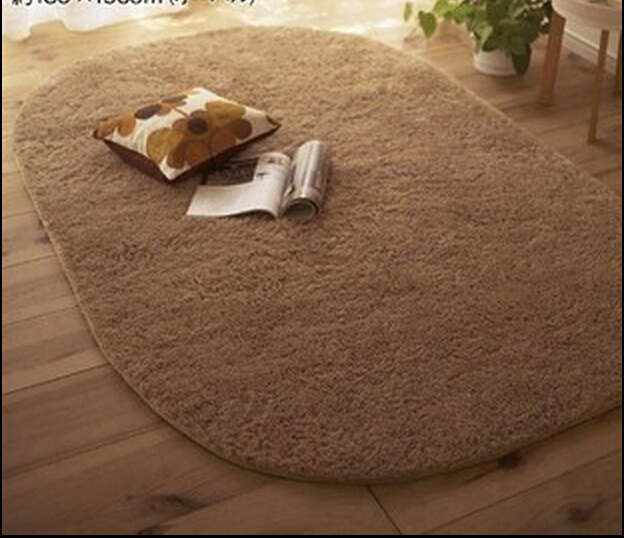 80*160cm Thick super soft non-slip rug living room bedroom carpet mats lovely bedside solid blanket