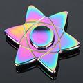Magic circle Rainbow metal hand Spinner Fidgets EDC finger spinner metal For Autism fidget spinner Anti