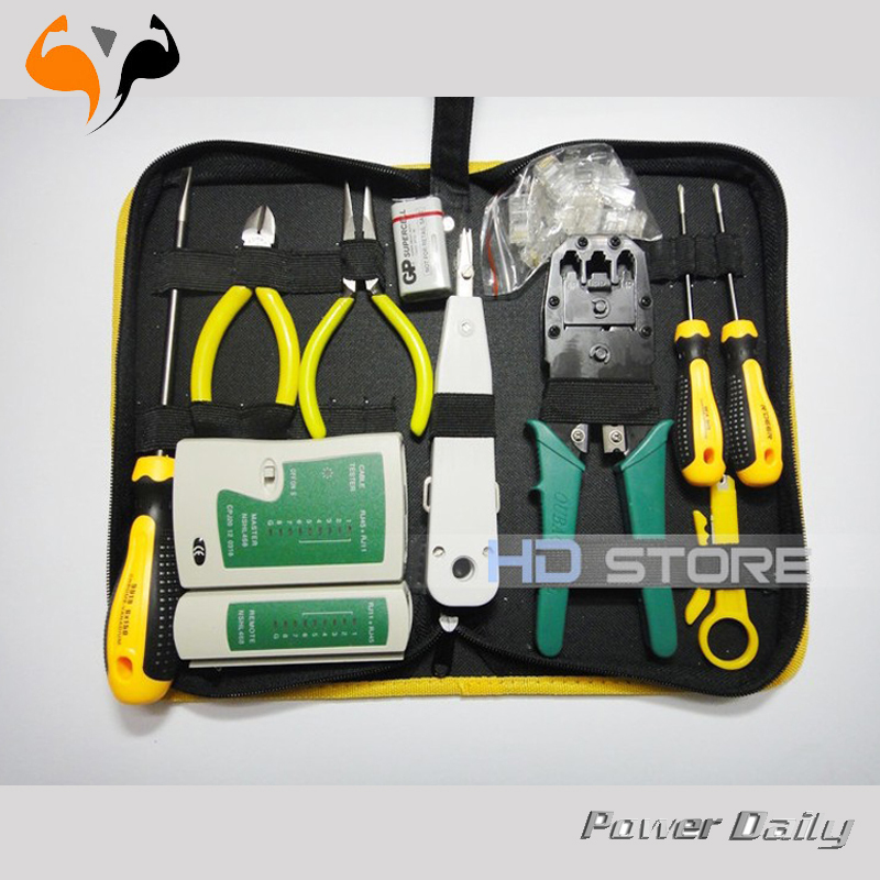 Maintenance of computer networks Toolkit suite room network Computer Repair Kit Tool Set free shipping(China (Mainland))