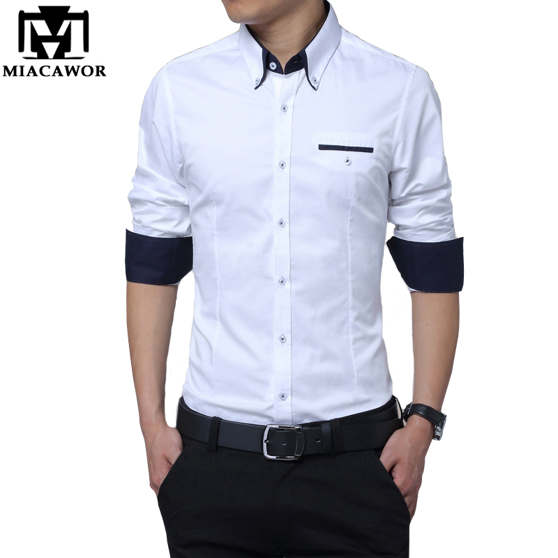 Buy mens casual shirts slim fit cotton for Buy mens dress shirts online