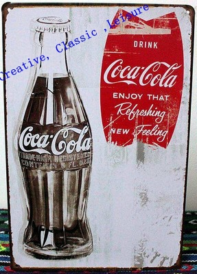 Free shipping vintage bar decoration tin sign bar sign for Plaque metal deco pour mur