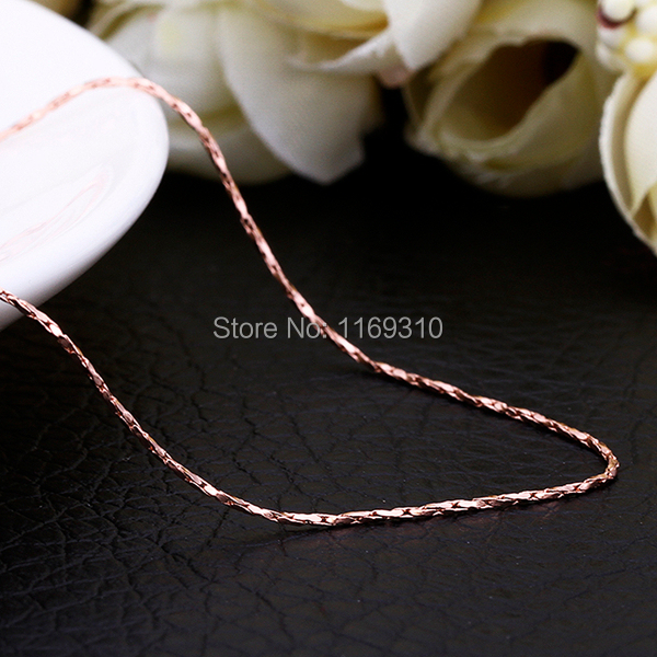 18K Gold plated fine chain necklace/Statement necklace / Wholesale fashion jewelry /necklaces for women/ free shipping /Pb-free(China (Mainland))