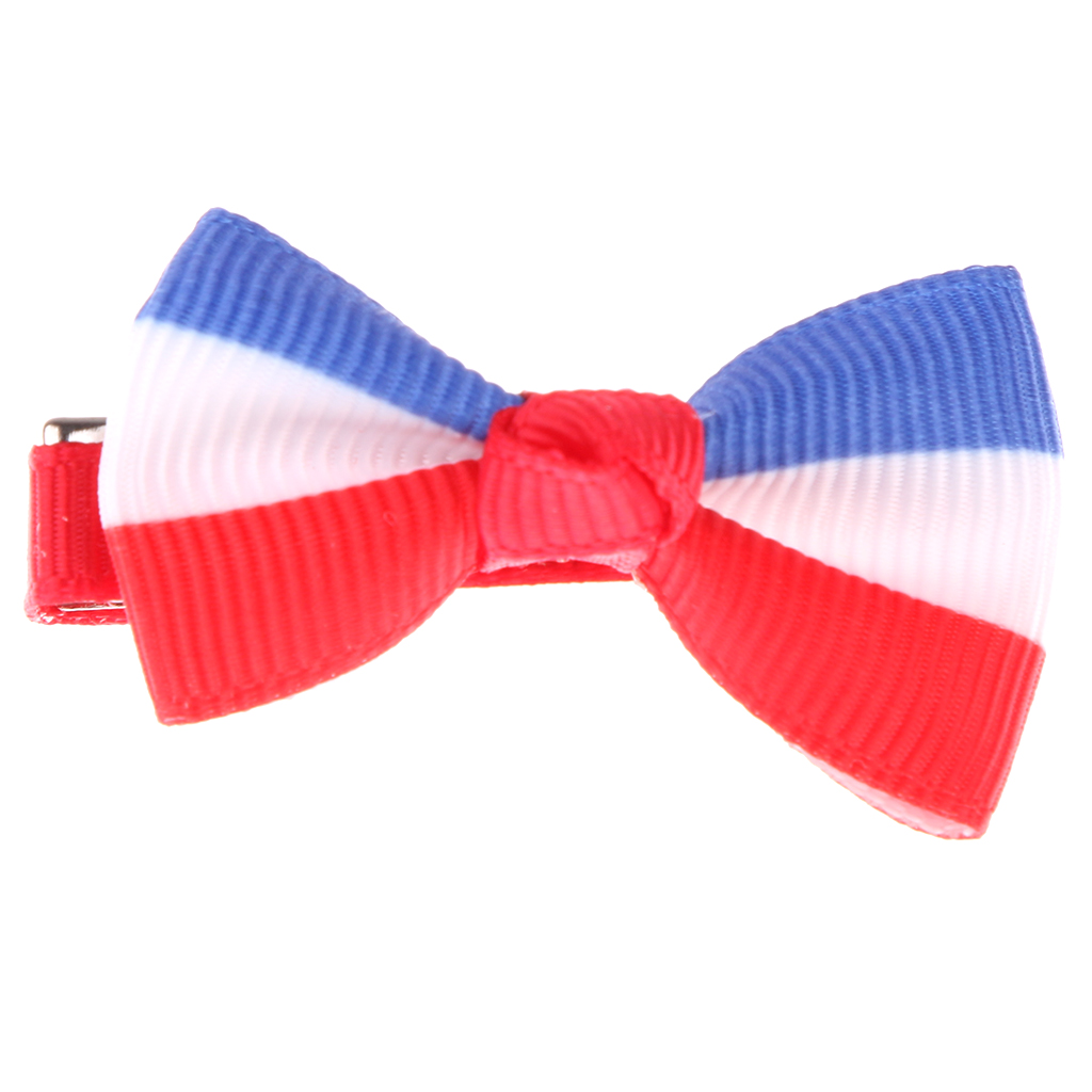 12Pcs Kids Girls Baby Ribbon Bow Bowknot Hair Clips Barrette Hair Accessorie for Party Cosplay Fancy Dress Ball Photography Prop