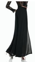 Feitong Lady Wide Leg Chiffon High Waist Pants Long Loose Culottes Trousers Free Shipping&Whloesale(China (Mainland))