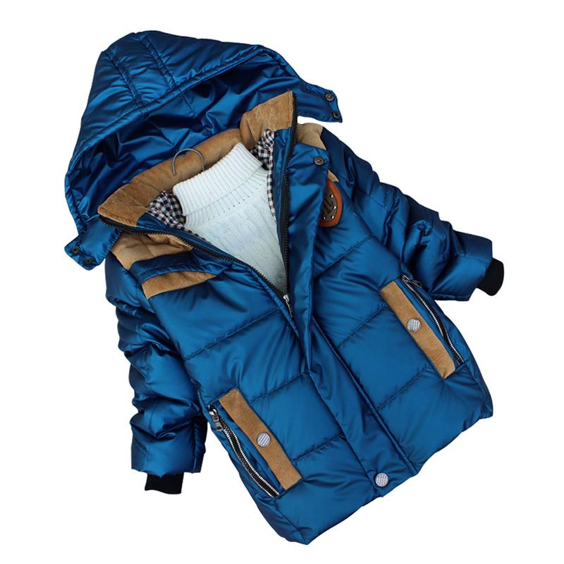 2015 Brand Children Down Jacket Children Outerwear Warm Boy Coat Winter Jacket For Boy Children's Winter Jacket Free Shipping
