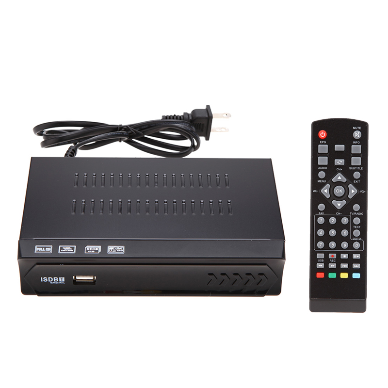 H.264 /MPEG-2/4 Full HD 1080P ISDBT Terrestrial Receiver Set-top Box Integrate Services Digital Video Broadcast TV Receiver HDTV(China (Mainland))