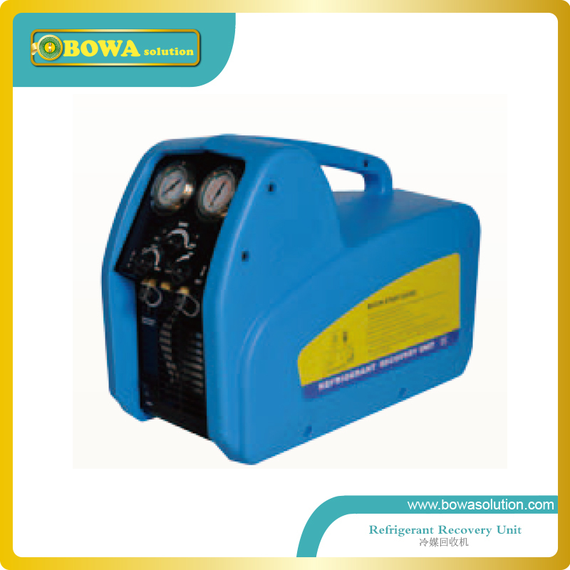 Portable Refrigerant recovery & recycling unit working for HCFC,HFC and CFC equipments(China (Mainland))