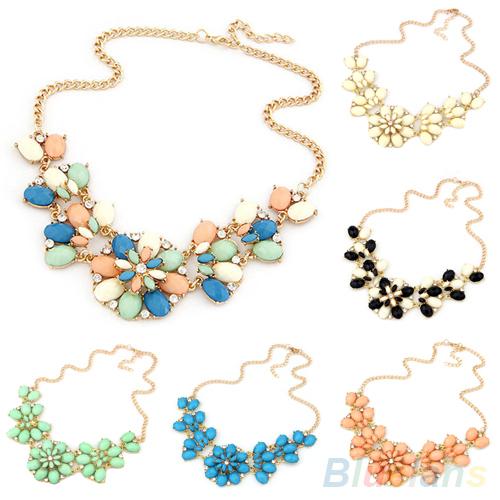Fashion Layered Sun Flower Charm Metal Chain Pendant necklace women 1M1M(China (Mainland))